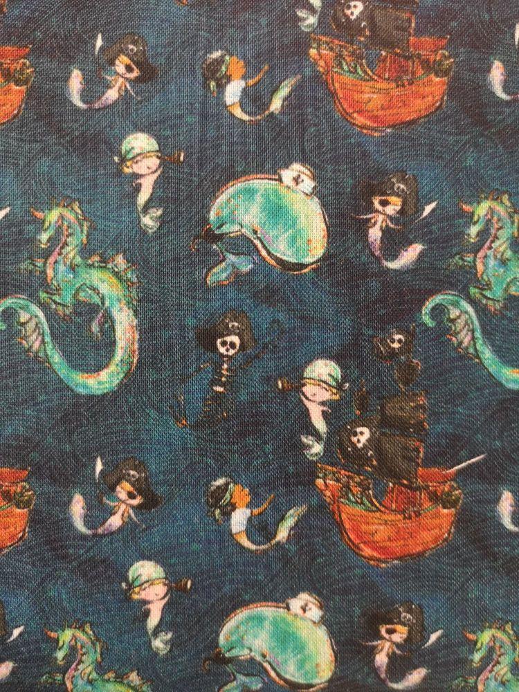 Merboys, Dragon, Pirates
