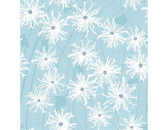 Clothworks - Sunday Afternoon - Mint floral