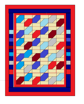 'Tumbling Leaves' Quilt Pattern - digital downloads