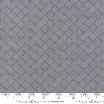 Farmhouse Flannels II - 49105 12F grey with diagonals
