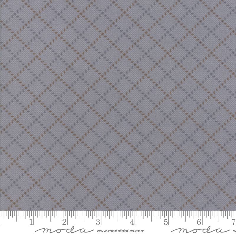 Farmhouse Flannels II - 49105 12F grey with diagonals
