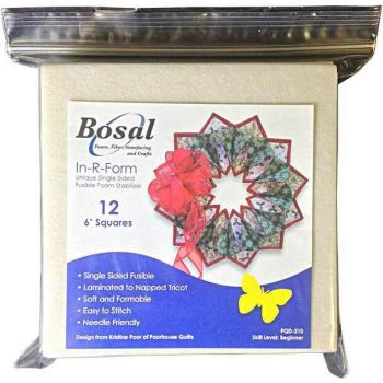 """Bosal In -R-Form  12 x 6"""" squares - Candle Wreath"""