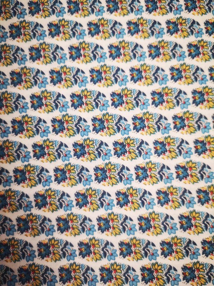 Liberty Emporium Collection - Blue Palmeria 908B