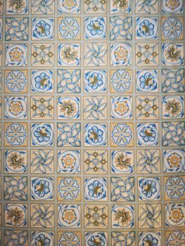 Liberty Emporium Collection - Blue Argyll Tile 909B