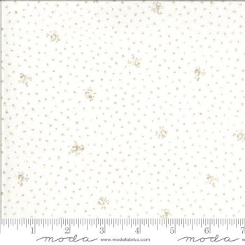 Dover by Brenda Riddle  - Pale Cream with beige floral design