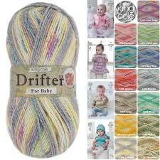 King Cole Drifter double knit yarn