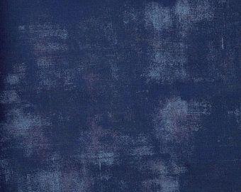 "Grunge by Basic Grey for Moda - Extra Wide 108"" - True Blue"