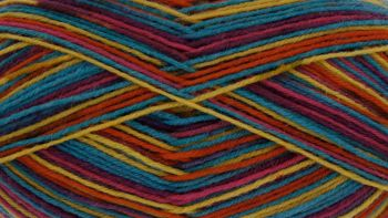 King Cole Zig Zag Sock Yarn Kaleidoscope
