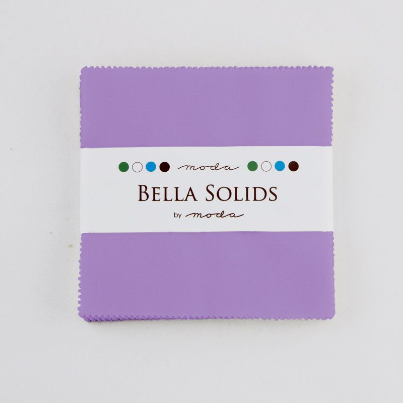 Moda Bella Solids Charm Pack - Hyacinth MCS9900 93