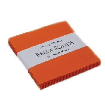 Moda Bella Solids Charm Pack - Orange MCS9900 80