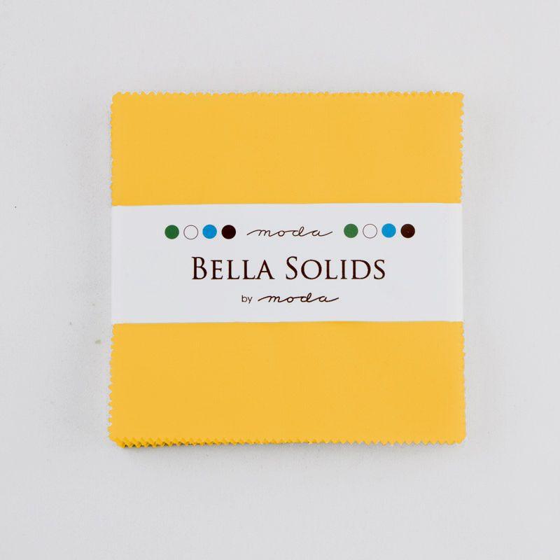 Moda Bella Solids Charm Pack - Yellow MCS9900 24S