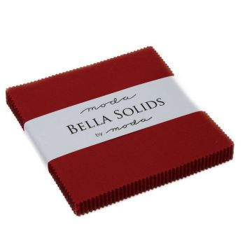 Moda Bella Solids Charm Pack - Country Red MCS9900 17
