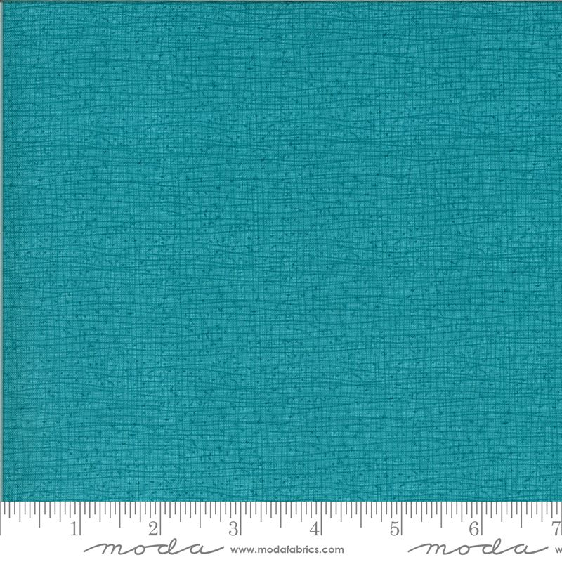 Moda Thatched Pond  ( turquoise - looks like birds on a wire) 48686 137