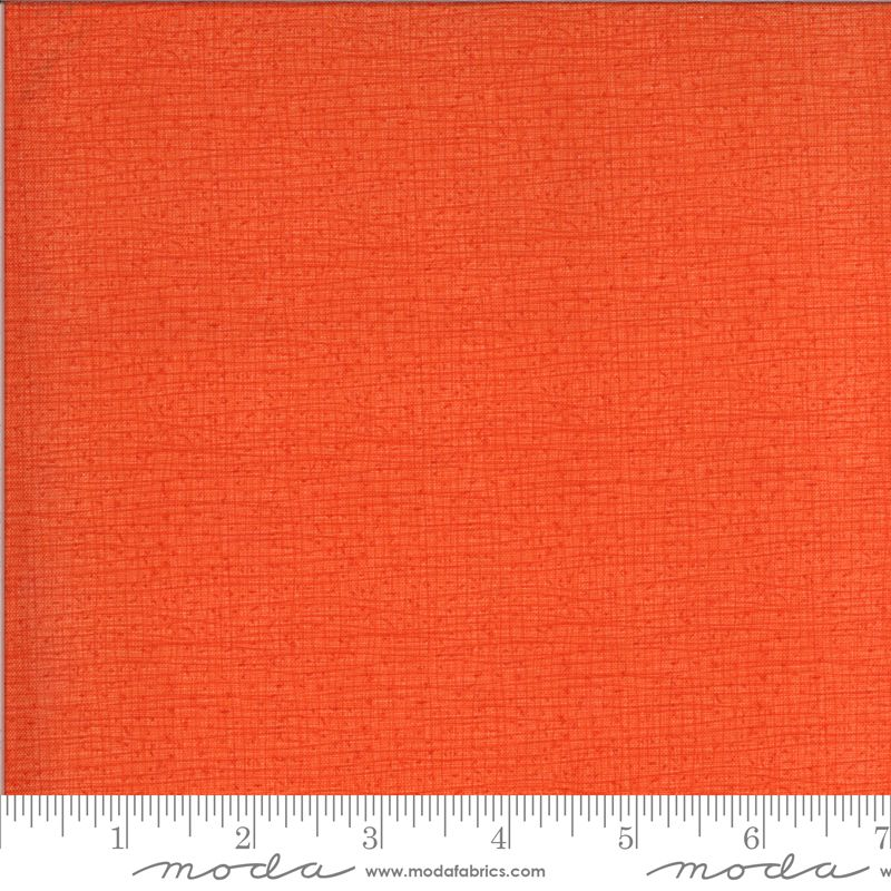 Moda Thatched Clementine ( orange - looks like birds on a wire) 48686 138