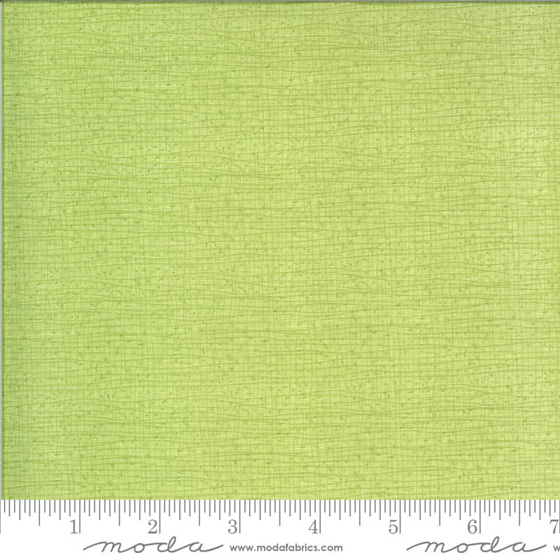 Moda Thatched Meadow (Green - looks like birds on a wire) 48686 134