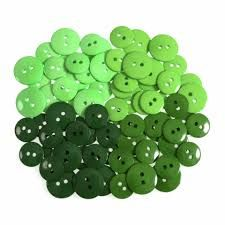 Trimits Waterfall Buttons - Greens