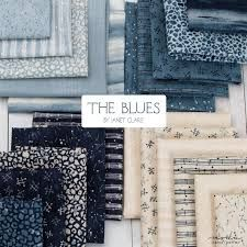 The Blues by Janet Clare for Moda