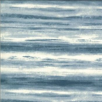 The Blues by Janet Clare for Moda - Parker light blue waves 16903 11