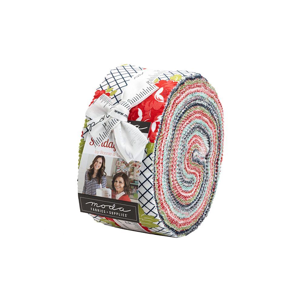 Moda Sunday Stroll Jelly Roll JR55220