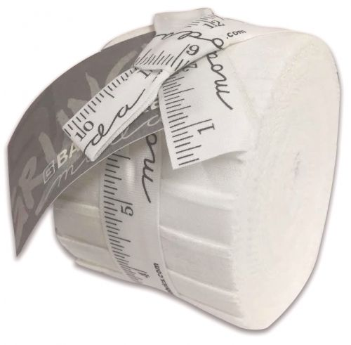 Junior Jelly Roll - Moda grunge Paper White  - 20 x 2.5