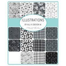 Illustrations by Alli K Design for Moda Jelly Roll 11500JR