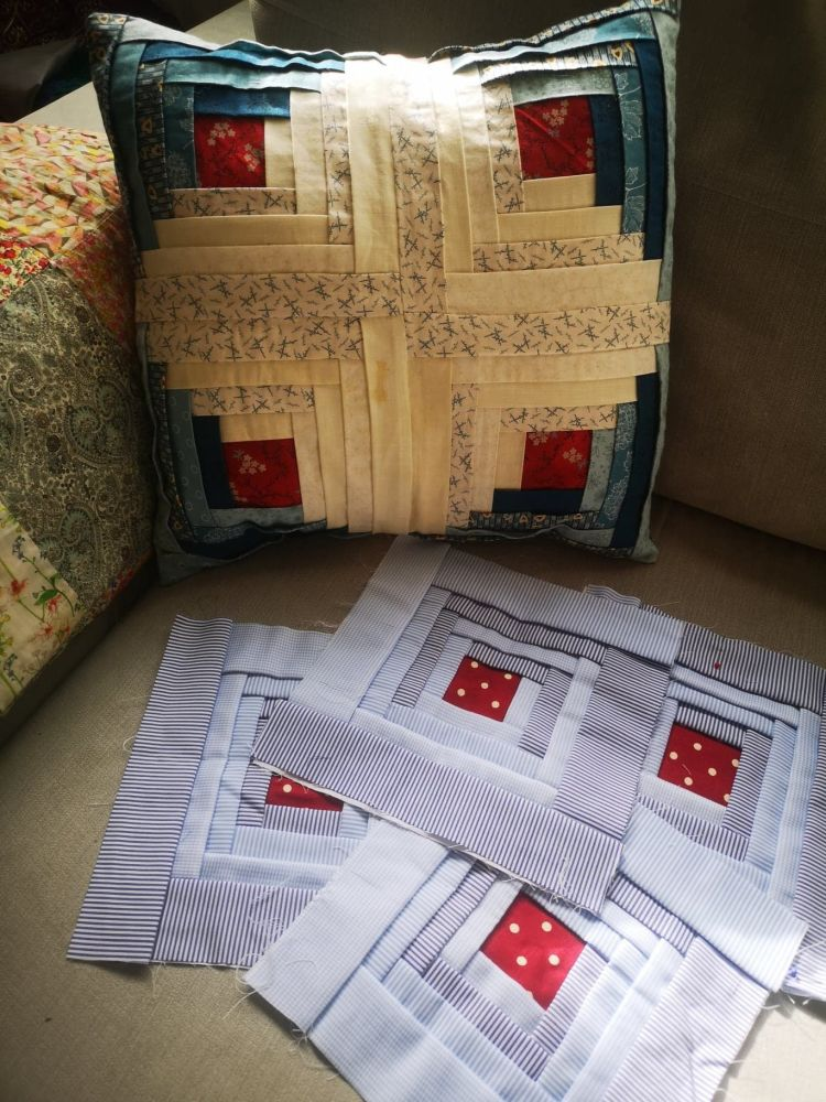Manx Patchwork Instructions - Printed Paper Copy