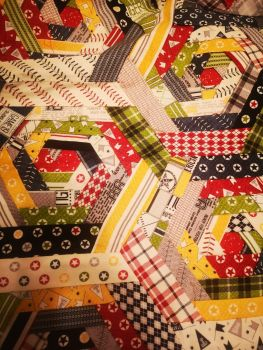 Hexi Manx Patchwork Instructions - Printed Paper Copy