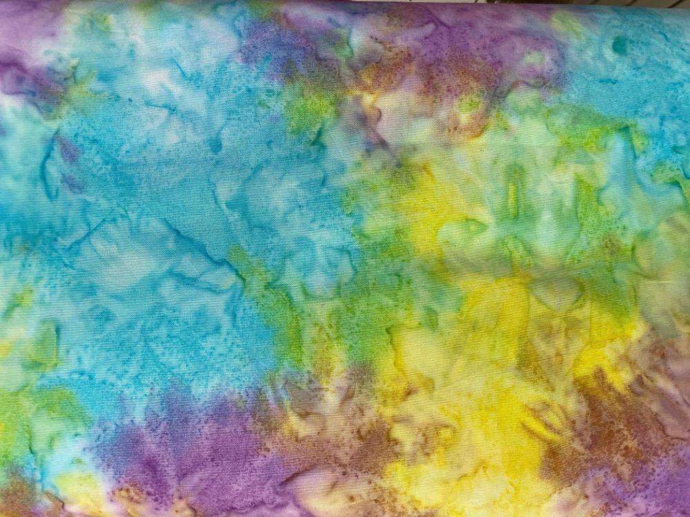 Kingfisher Batiks - Pastel Rainbow - SSB012