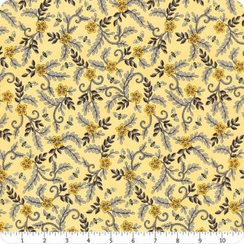 Bee grateful by Deb Strain for Moda - Honey yellow floral