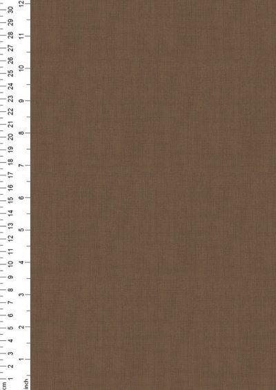 Makower 1473/V7 Mocha Linen Texture