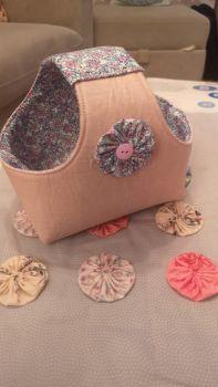 Fabric Bosal Basket pattern &  Template (Digital Download)