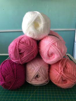 Colour Bundles- Pinky-ness