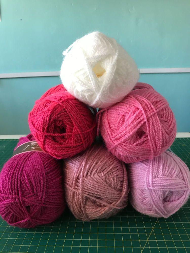 Colour Bundles- Glorious Pink