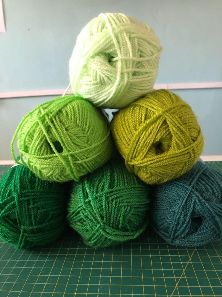 Colour Bundles- Green Envy
