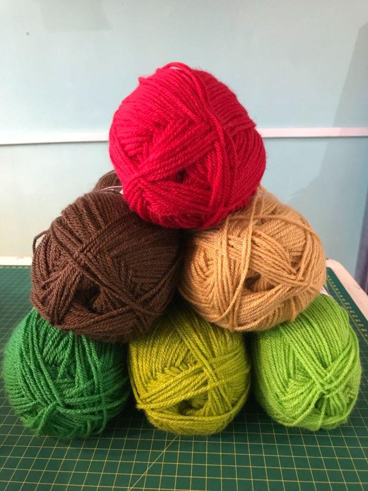 Colour Bundles- Apple Tree