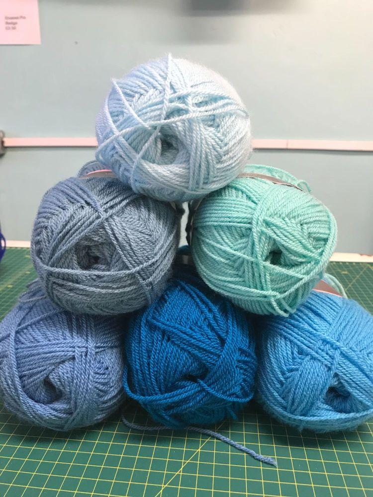 Colour Bundles- Blue Flame