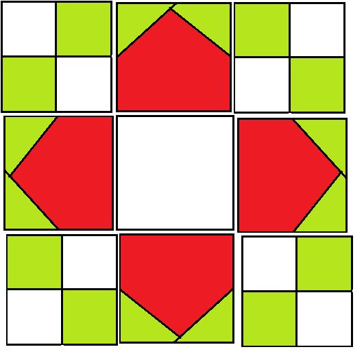 Arrow Block Pattern - digital download