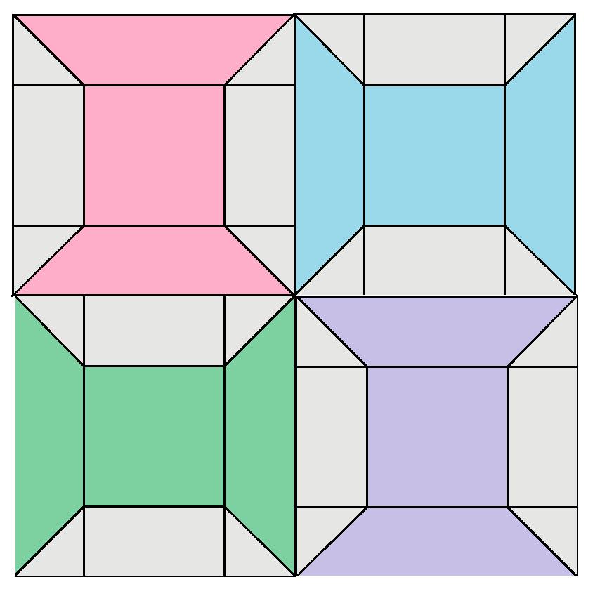 Bobbin Block Pattern - digital download