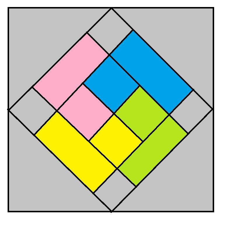 Card Trick Block Pattern - digital download
