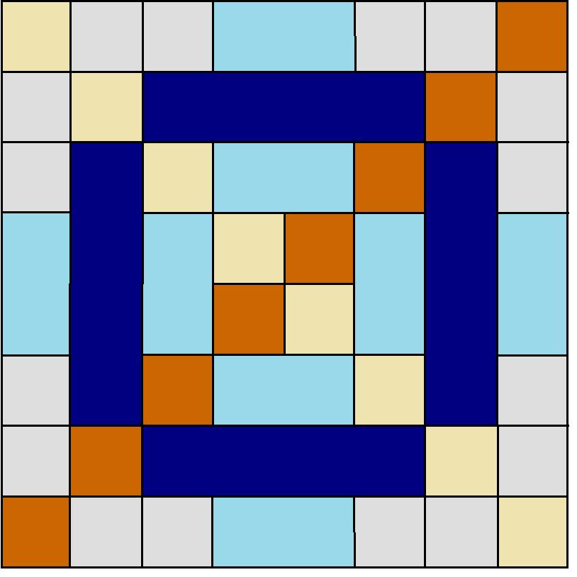 Criss Cross Block Pattern - digital download