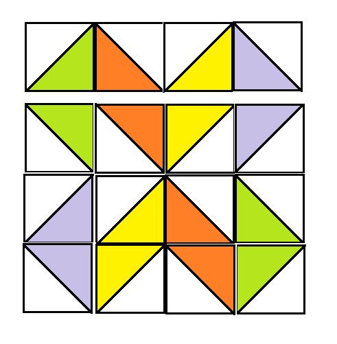 Double Zee Block Pattern - digital download