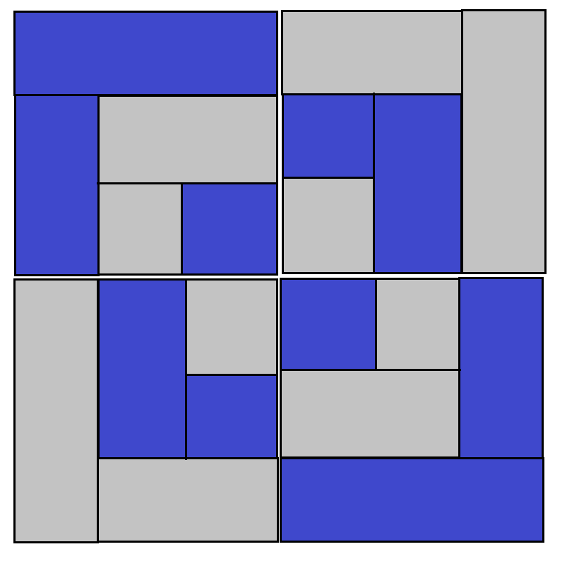 Bento Box Quilt Block - digital download