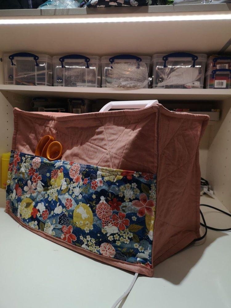 Sewing Machine Cover a la Gecko - Digital Download