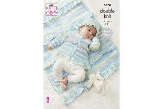 King Cole Knitting Pattern - 5678