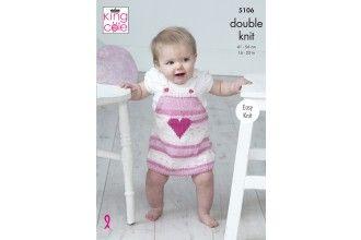 King Cole Knitting Pattern - 5106