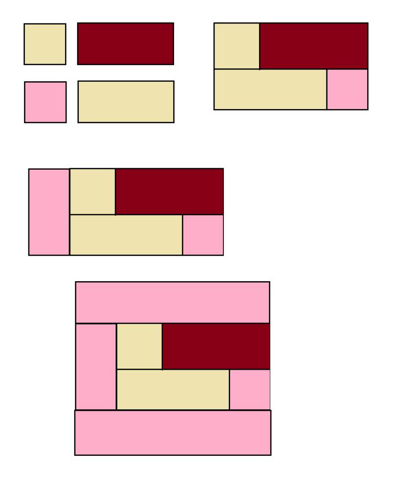 Locked Square Quilt Block - Digital download