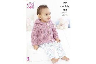 King Cole Knitting Pattern - 5487
