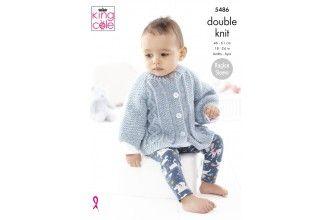 King Cole Knitting Pattern - 5486