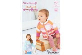 Stylecraft Bambino Knitting Pattern - 9636