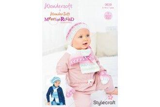Stylecraft Bambino Knitting Pattern - 9639